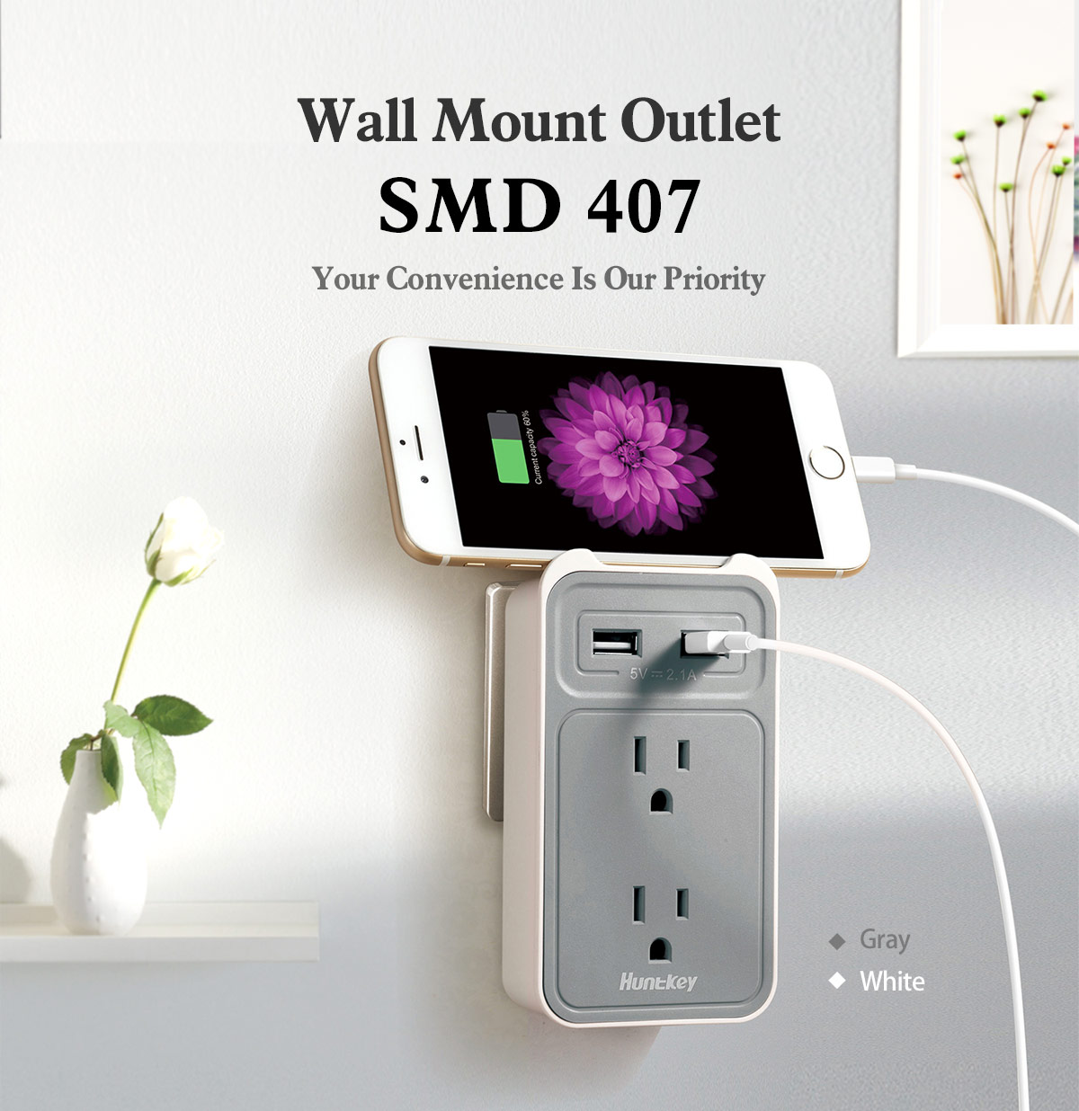 SMD407_1 SMD407(Gray)