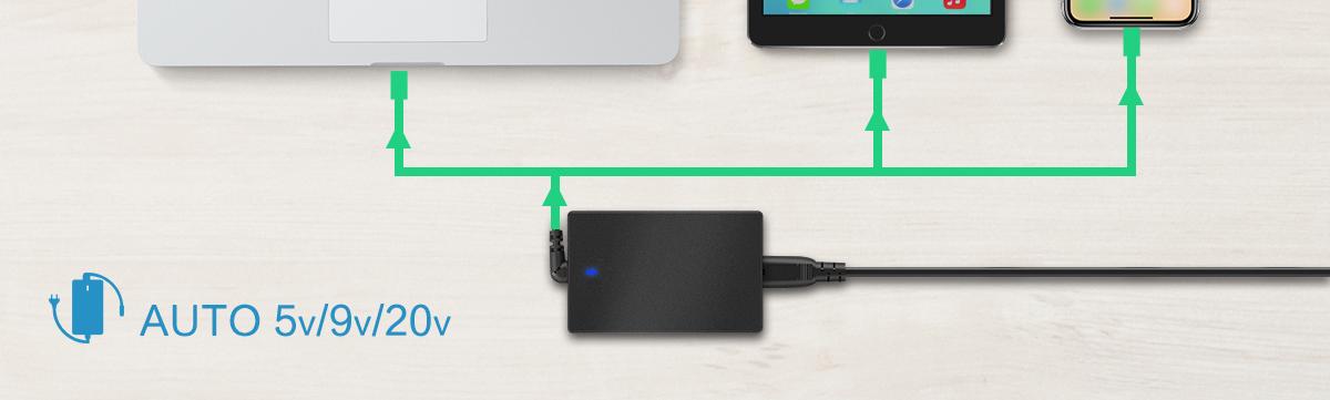 usb-type-c-adapter 60W USB Type C
