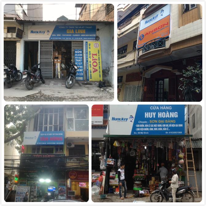 1 New Huntkey Signboards in Vietnam