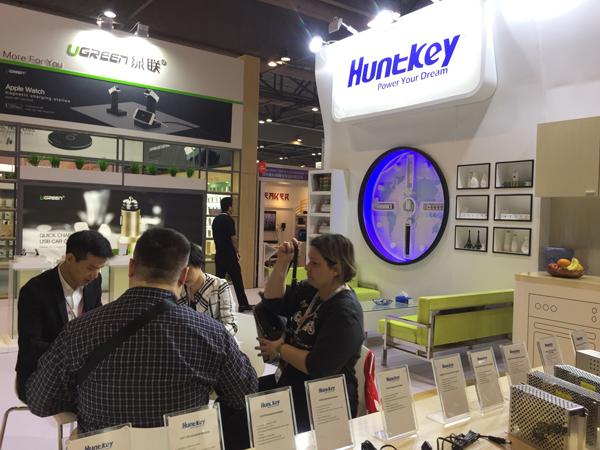 20170411134206463 Live News of Huntkey at Global Sources Electronics 2017