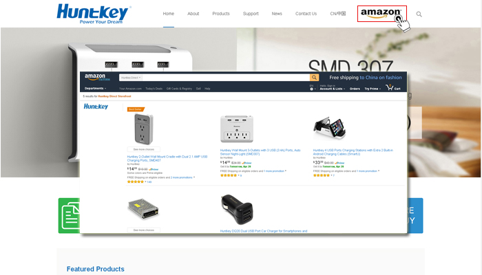 some-key-features-of-Hunkey-site Huntkey Launches Its New Website