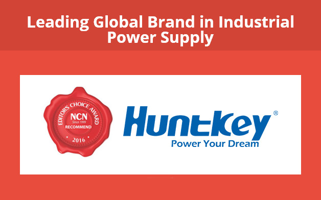 1-2 Huntkey Wins the Leading Global Brand in Industrial Power Supply Award from NCN