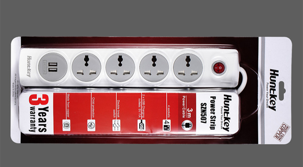 6 Huntkey: How to Choose a Good Power Strip?