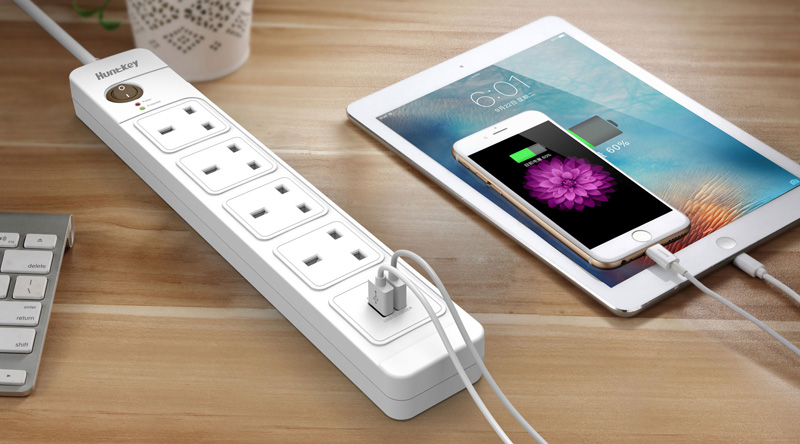 UK-Standard-Power-Strip-1 Huntkey Introduces New Models of UK Standard Power Strip