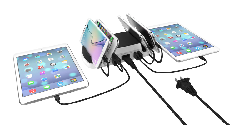 usb-charging-station-1 Huntkey SmartU: Best USB Charging Station for Your Devices