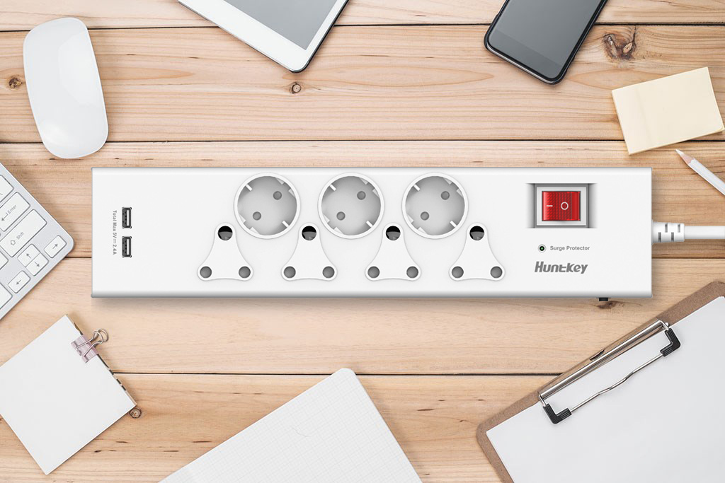 South-African-Standard-Surge-Protector Huntkey Introduces New Model of South African Standard Power Strip