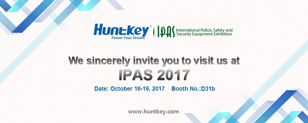 invitation Huntkey to Present at IPAS 2017