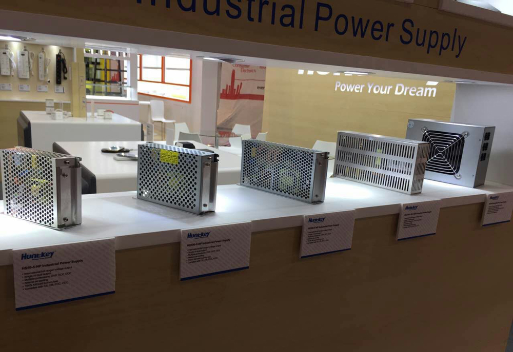 industrial-power-supply Huntkey Durable Industrial Power Supplies Exhibited at Global Sources Electronics