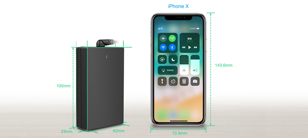 iPhone-X Huntkey Releases A New Product Called The USB-C Adapter