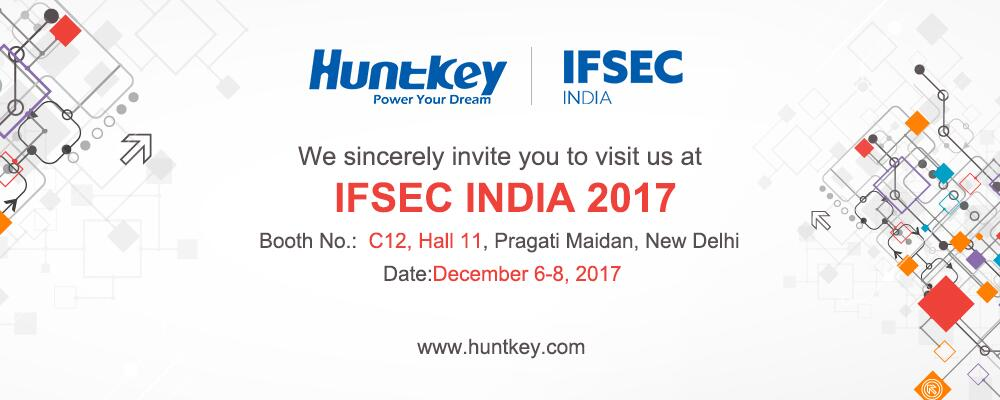 invitation Huntkey to Present at IFSEC India