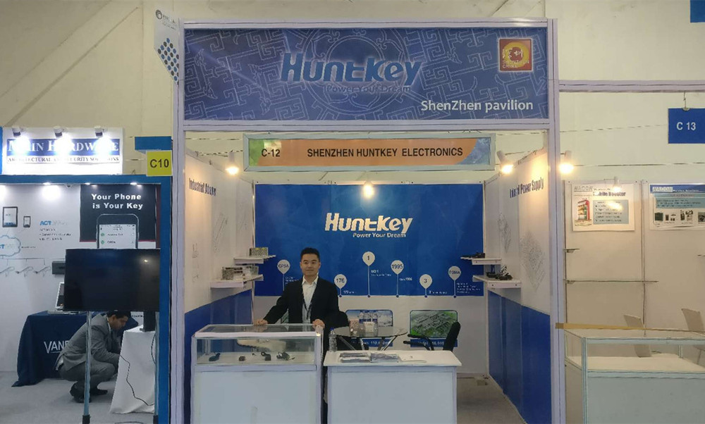 1 Huntkey Attending IFSEC India 2017