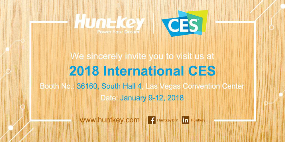 invitation Huntkey to Showcase a More Convenient Smart Home at CES 2018