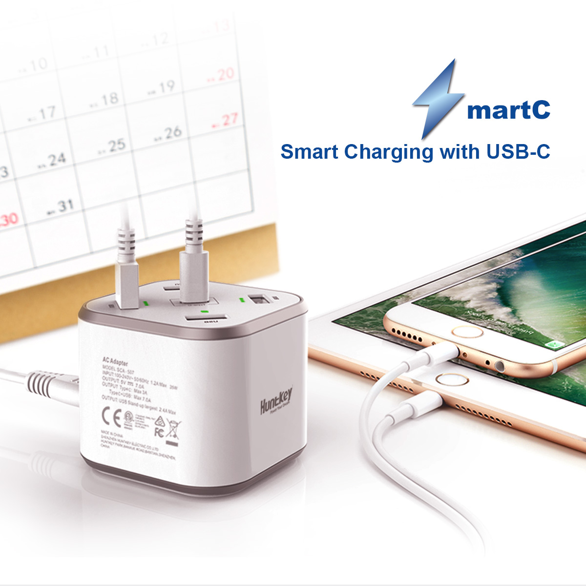 usb-power-station_01 SmartC (White)