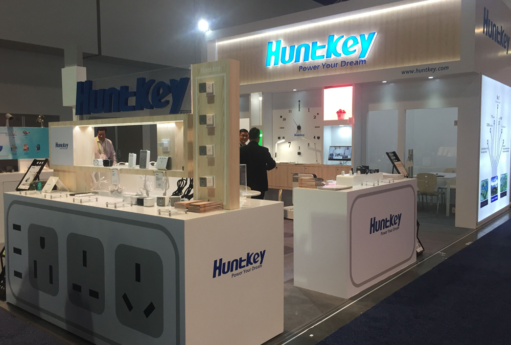 ces2018 Huntkey LED Lighting Products Make Debut Appearance at CES 2018