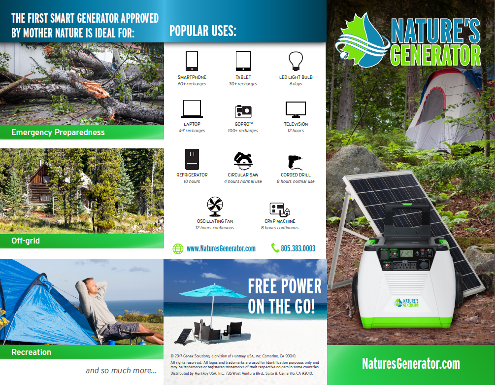 Huntkey To Release Nature S Generator At Ces 2018