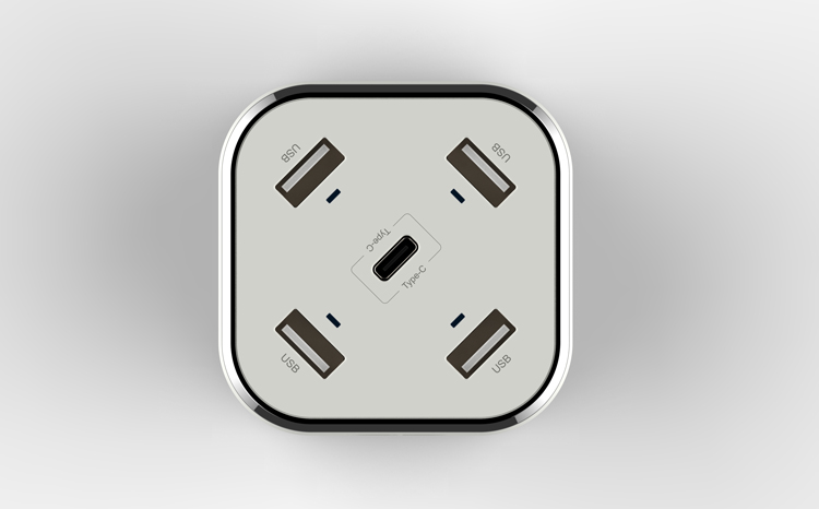 huntkey-smartc03 Huntkey Releases a New USB Power Station - the SmartC