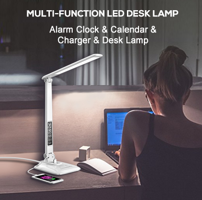 Multifunctional LED Desk Lamp