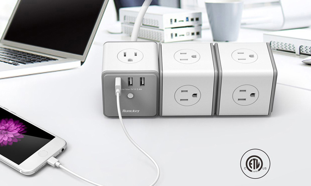 magic-outlet-02 Huntkey Releases Its Cubic Power Outlets at AWE 2018