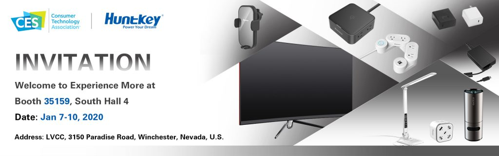 2020CES-Invitation-1024x320 Huntkey to Present at CES 2020
