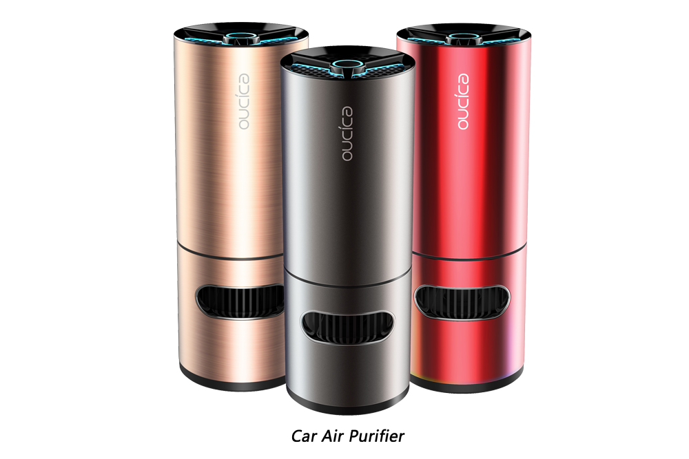 car-air-purifier Huntkey Uses Photocatalyst to Enhance Air Purifier Performance