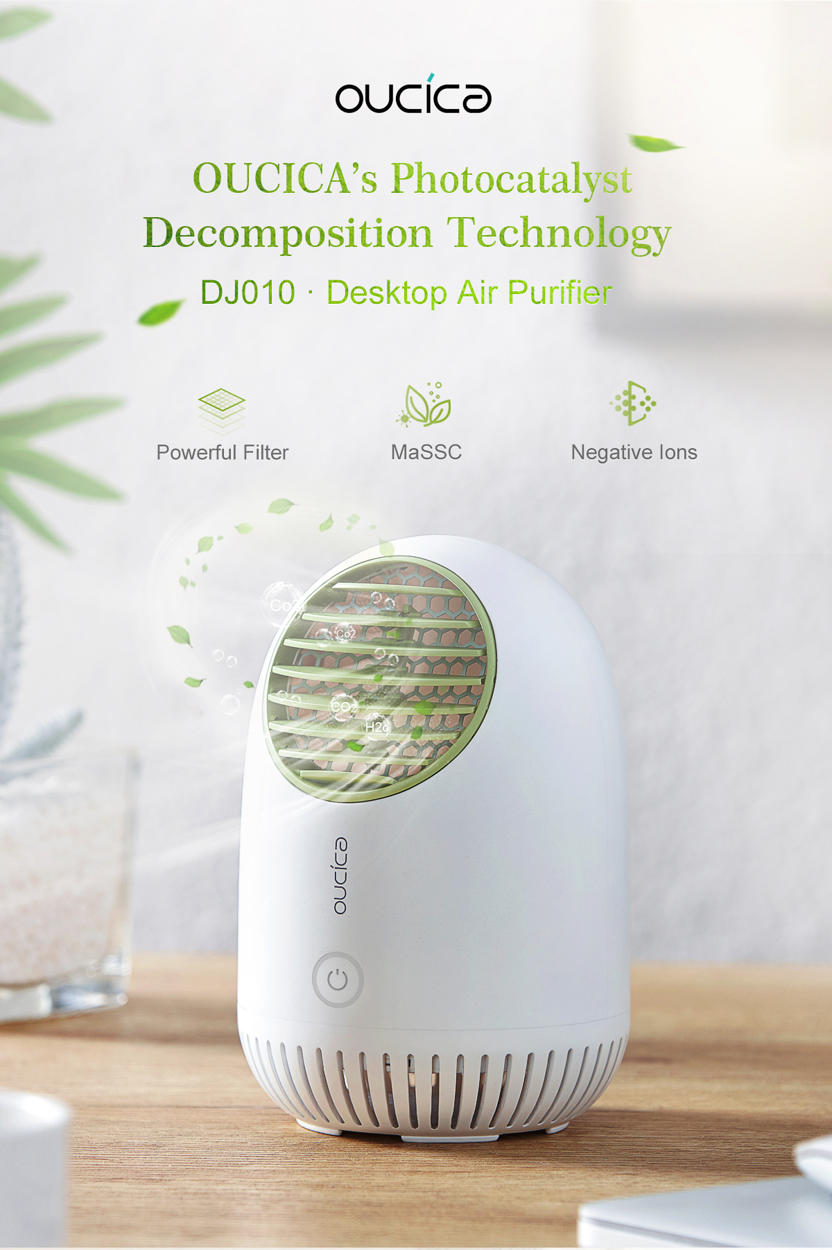 DJ101_01 Desktop Air Purifier