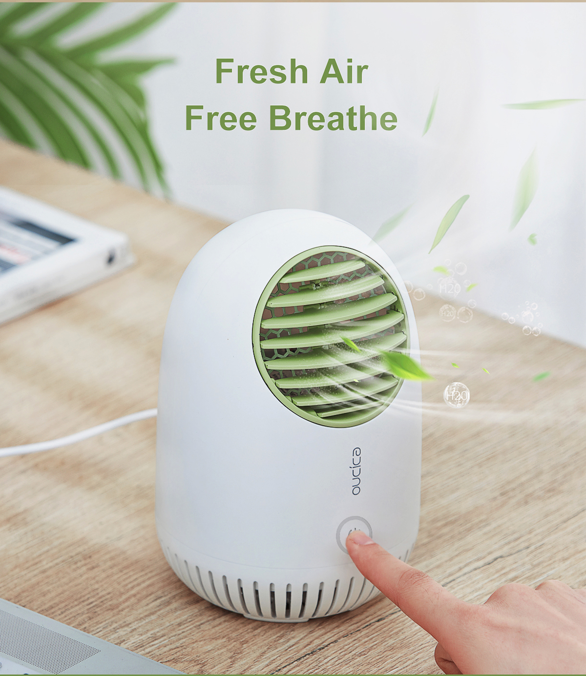 DJ101_03 Desktop Air Purifier
