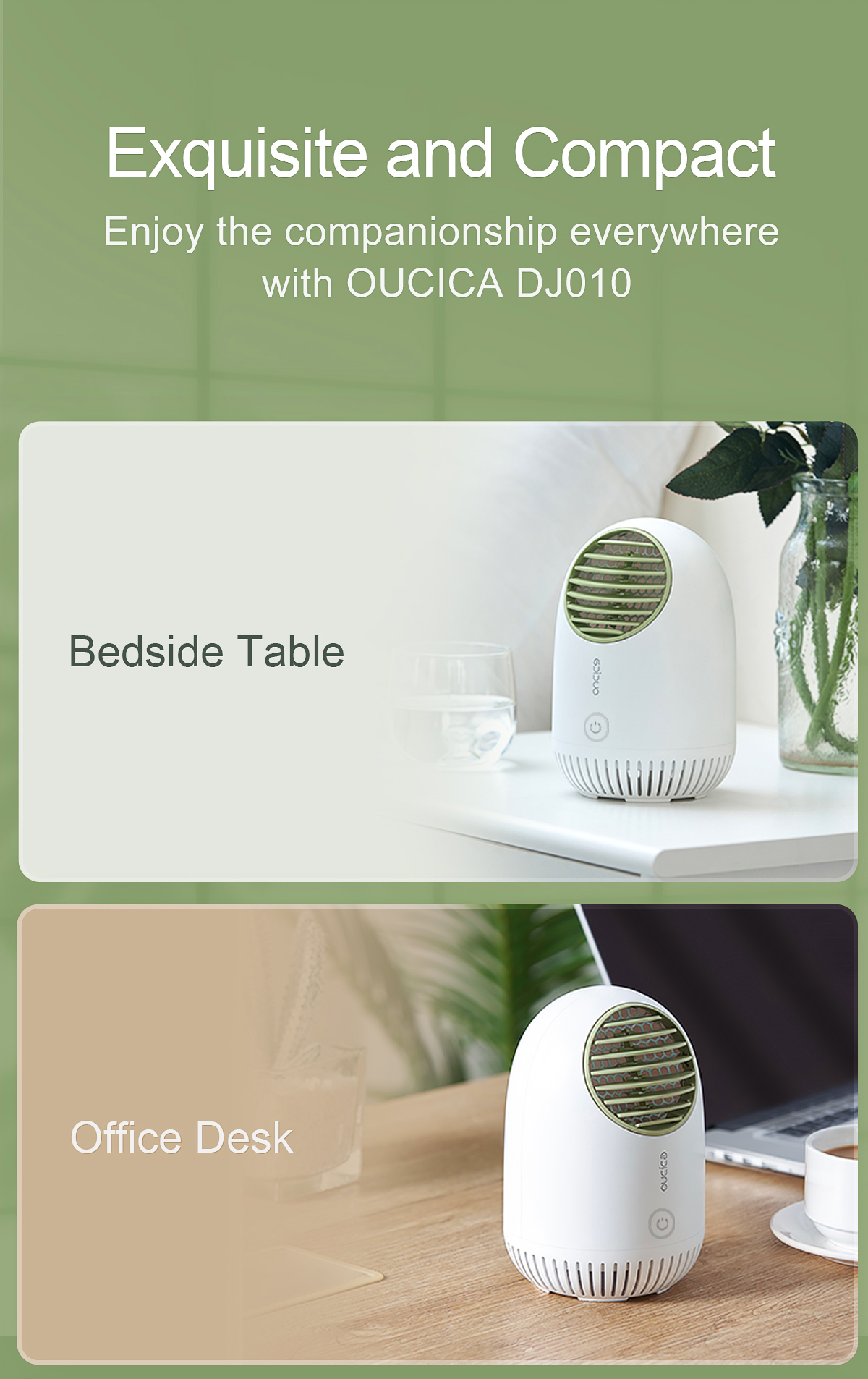 DJ101_10 Desktop Air Purifier