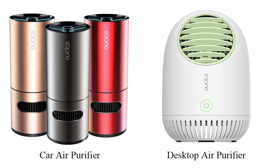 car-air-purifier Huntkey Develops Portable Air Purifiers