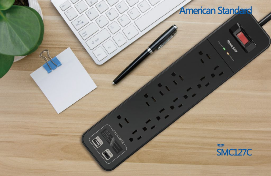surge-protector-power-strip-1024x666 Huntkey Introduces Its Surge Protector with USB-C Port