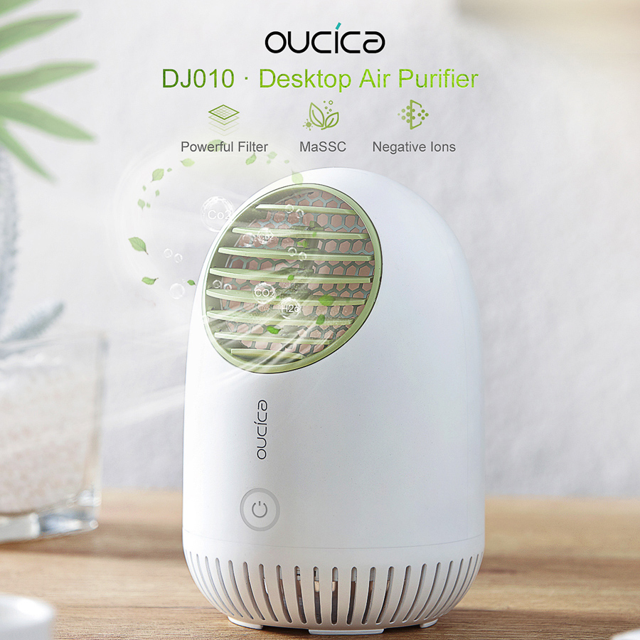 oucica-desktop-air-purifier Oucica Will Release Its New Photocatalyst Air Purifier to Markets in Late August