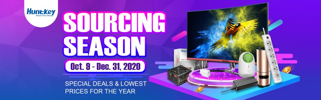 sourcing-season-1024x320 Huntkey Launches Sales Campaign - Sourcing Season 2020