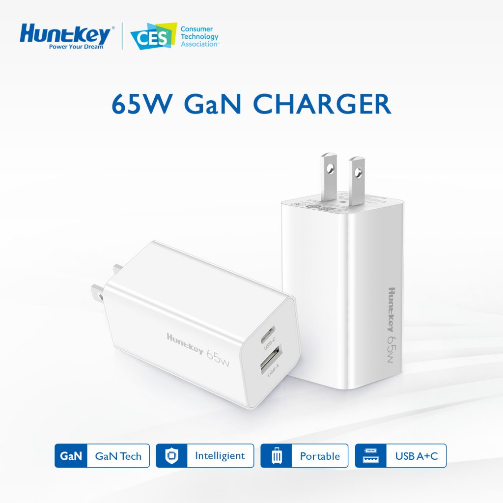 GaN-Charger-1024x1024 Huntkey Presents at the All-Digital CES 2021