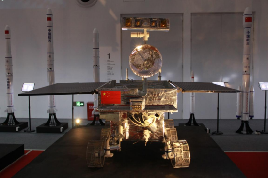 """2021-China-Manned-Space-Science-and-Technology-Achievement-Exhibition-3 """"Challenge, Mars"""" Huntkey participates in the 2021 China Manned Space Science and Technology Achievement Exhibition Opening in Shenzhen City"""