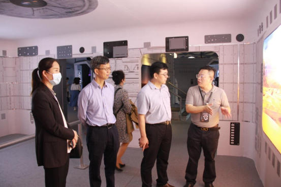 """2021-China-Manned-Space-Science-and-Technology-Achievement-Exhibition-7 """"Challenge, Mars"""" Huntkey participates in the 2021 China Manned Space Science and Technology Achievement Exhibition Opening in Shenzhen City"""