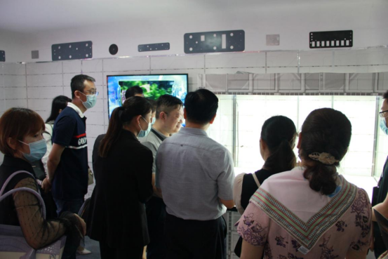 """2021-China-Manned-Space-Science-and-Technology-Achievement-Exhibition-8 """"Challenge, Mars"""" Huntkey participates in the 2021 China Manned Space Science and Technology Achievement Exhibition Opening in Shenzhen City"""